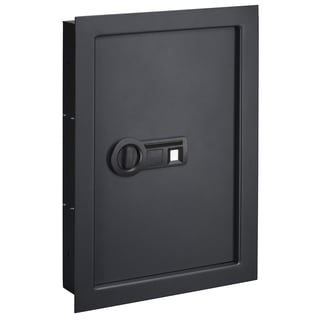 Stack-On Wall Safe with Biometric Lock