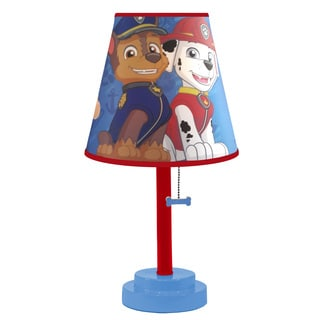 Paw Patrol Table Lamp with Empire Shade