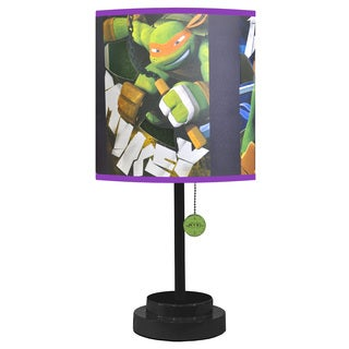 Nickelodean Teenage Mutant Ninja Turtles Empire Shade Die-cut Table Lamp