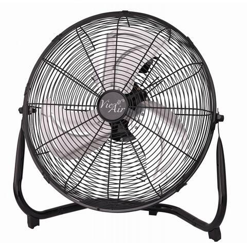 Vie Air 14-inch Industrial High Velocity 3-speed Metal Floor Fan