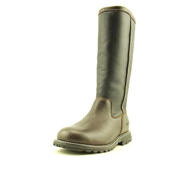 d1e5cf12a97 Shop Ugg Australia Women's Brooks Tall Leather Boots - Free Shipping ...