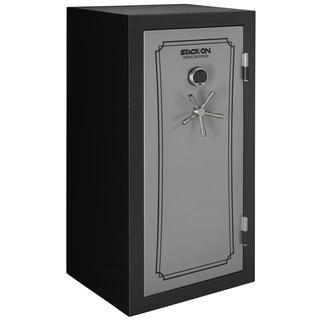 Stack-On 36-40 Gun Safe with Back-lit Electronic Lock, Matte Black/Silver