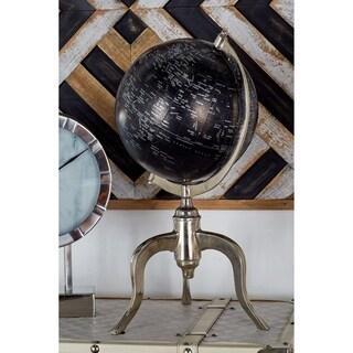 Benzara Aluminum PVC Globe
