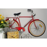Benzara Metal Bicycle Wall Decor
