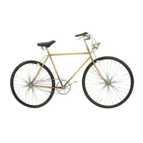 Benzara Metal Bicycle Wall Decor