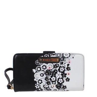Nicole Lee Haider Cascading Flowers Wallet