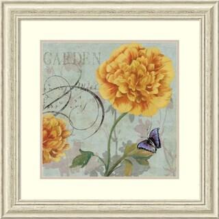 Framed Art Print 'Garden' by Aimee Wilson 29 x 29-inch