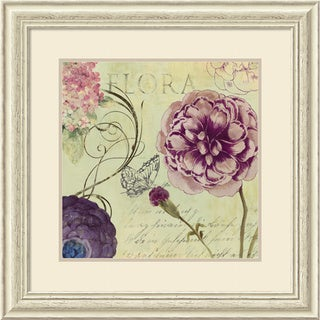 Framed Art Print 'Flora' by Aimee Wilson 29 x 29-inch