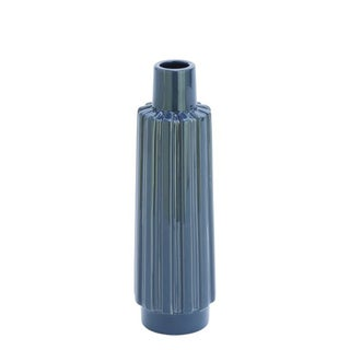 Benzara Grey Ceramic Vase
