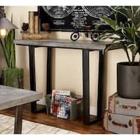 Studio 350 Wood Concrete Consol 48 inches wide, 34 inches high
