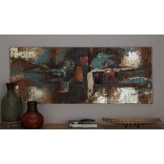 Studio 350 Metal Wall Decor Set of 2, 20 inches wide, 20 inches high