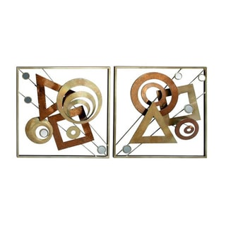 Striking Metal Wall Decor (Assorted 2-pack)