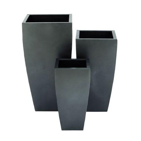 Strick & Bolton Buri Metal Planter (Set of 3)