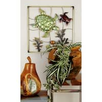 Attractive Metal Wall Decor 2 Assorted