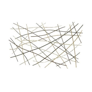 Studio 350 Metal Wall Decor 55 inches wide, 36 inches high