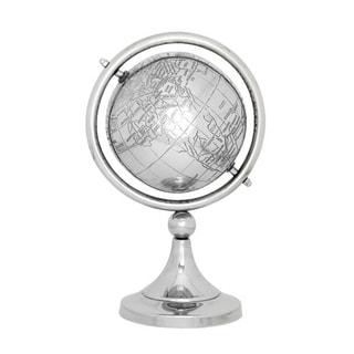 Benzara Enticing Stainless Steel PVC Globe