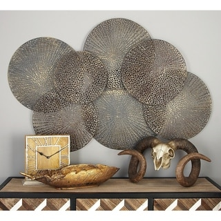 Link to Strick & Bolton Buri Metallic Iron Wall Decor Similar Items in Wall Sculptures