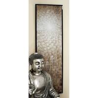 Benzara Framed Canvas Abstract Wall Art