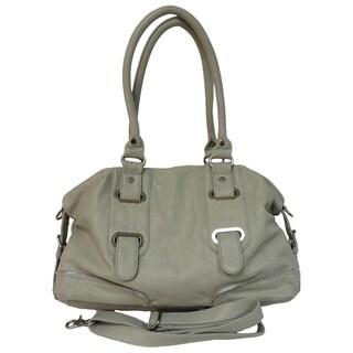Donna Bella 'Bridgette' Gray Tote Bag
