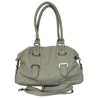 Donna Bella 'Bridgette' Gray Tote Bag