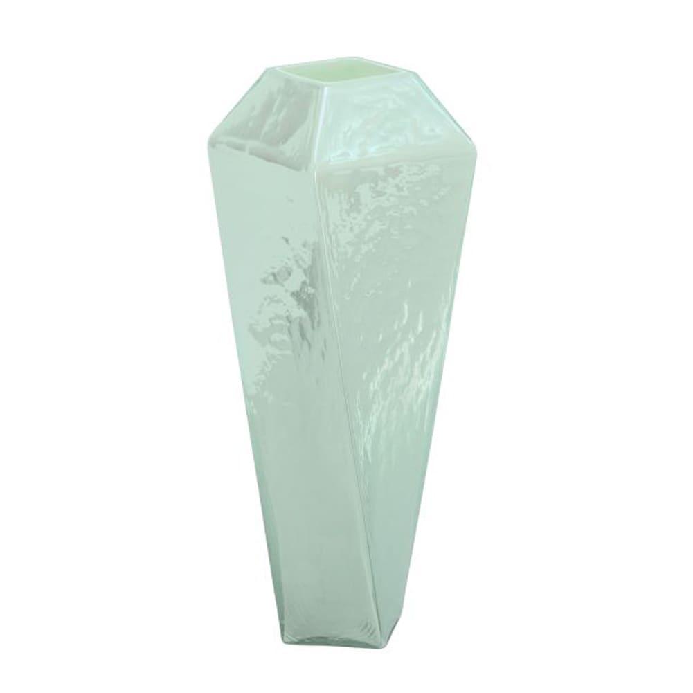 Studio 350 Benzara Beautiful Glass Vase (Pearl White)