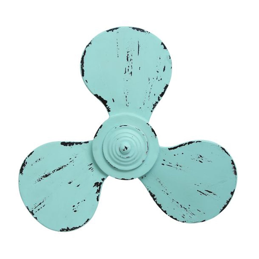Benzara Metal Propeller Wall Decor
