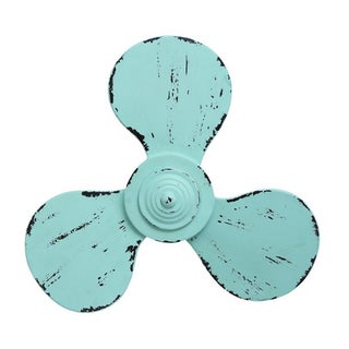 Benzara Metal Propeller Wall Decor - Thumbnail 0