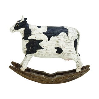 Benzara Polystyrene Cow Figurine