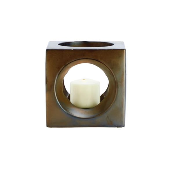 Benzara Extraordinary Ceramic Candle Holder