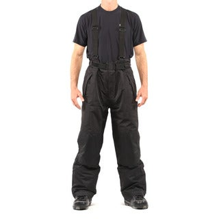 Pulse Men's Black Suspender Pant
