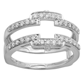 Elora 10K Gold 1/2 ct TDW Round Diamond Enhancer Wedding Band (H-I, I1-I2)