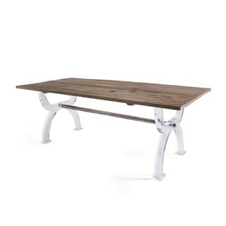 Hip Vintage Callahan Brown Wood Dining Table