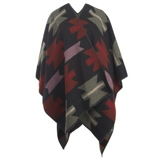 Woolrich Multicolored Wool Blend Forest Ridge Geronimo Poncho