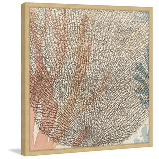 Marmont Hill - 'Sea Ephemera I' Framed Painting Print