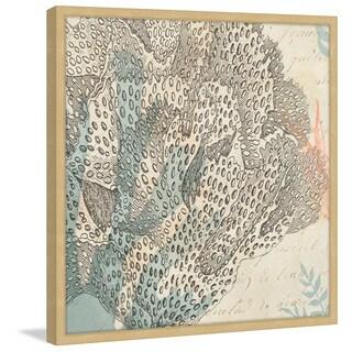 Marmont Hill - 'Sea Ephemera III' Framed Painting Print