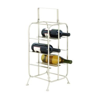 Studio 350 Metal Wine Holder 9 inches wide, 25 inches high