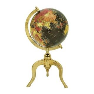 Benzara Gold Aluminum Globe