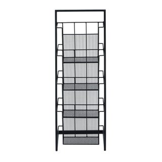 Benzara Metal Magazine Rack