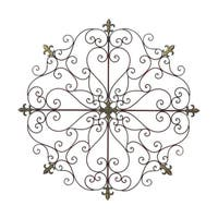 Gracewood Hollow Valerio Iron Wall Decor