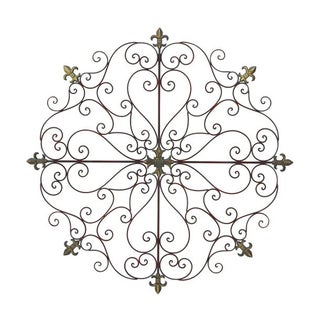 Benzara Iron Wall Decor