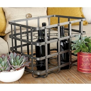 Chic Metal Wine Holder