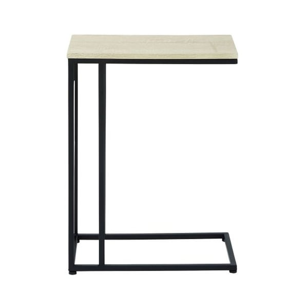 Studio 350 Metal Wood Accent Table 19 inches wide, 26 inches high