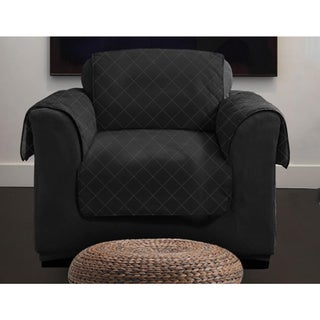 Lauren Taylor Diamond Quilt Chair Slipcover
