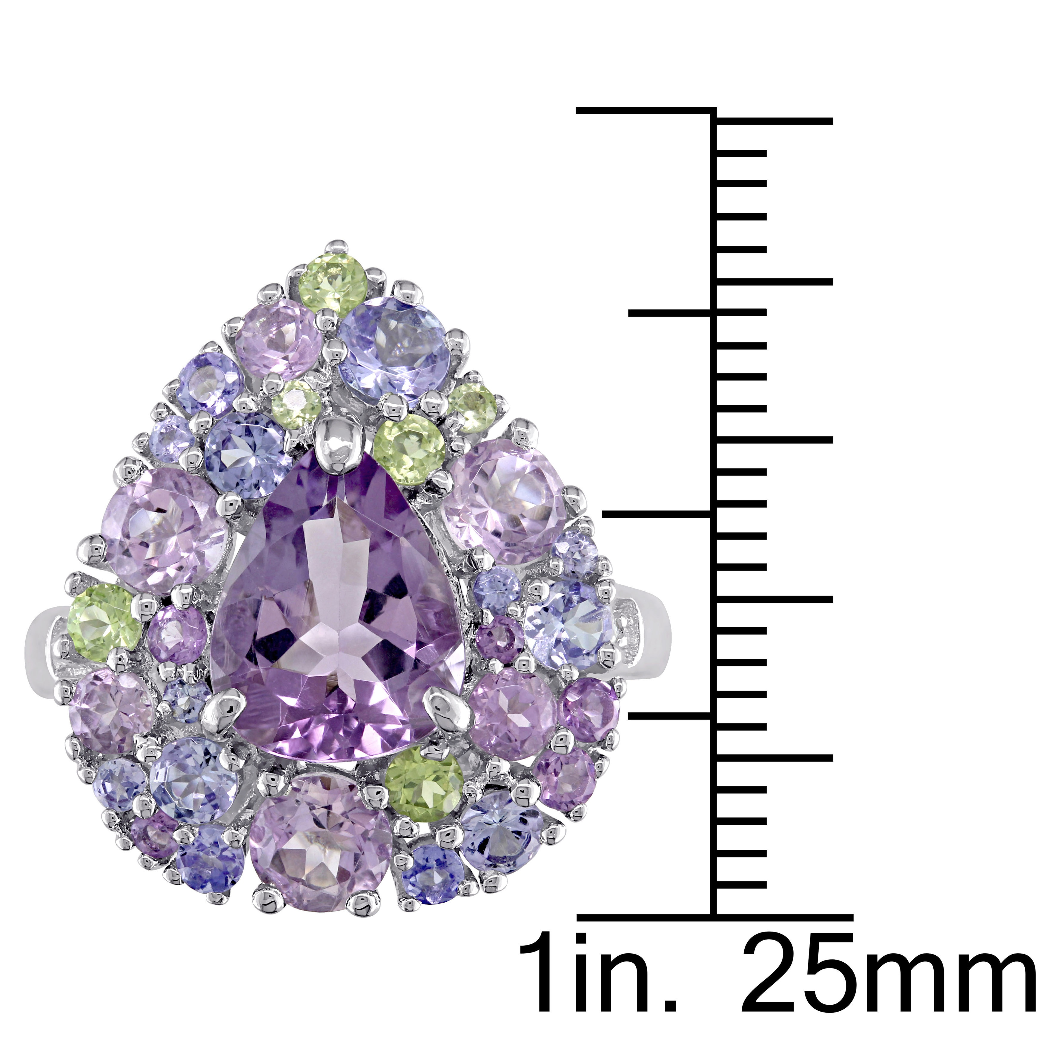 Lovely Handmade Jewellery Purple Amethyst Quartz Silver Plated 8 Grams Earring 1.75