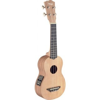 Stagg USX-ROS-SE Red Rosewood Acoustic-Electric Soprano Ukulele