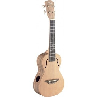 Stagg UTX-ZEB-S Zebrawood Traditional Tenor Ukulele