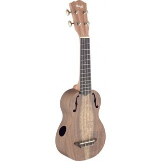 Stagg USX-ACA-S Acacia Wood Traditional Soprano Ukulele