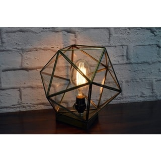Glass Terrarium Table Lamp (India)