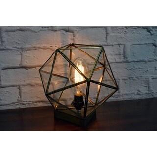 Glass Terrarium Table Lamp (India)