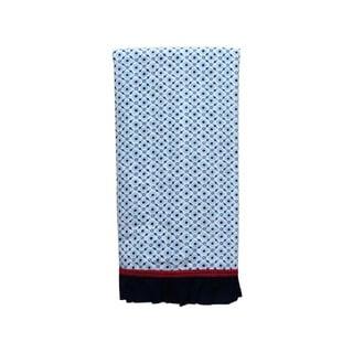 Handmade Printed Cotton Tea Towel (India)
